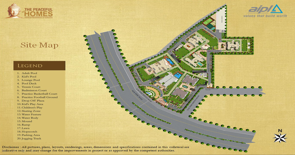 Paradise Consulting AIPL The Peaceful Homes Sector 70A Gurgaon