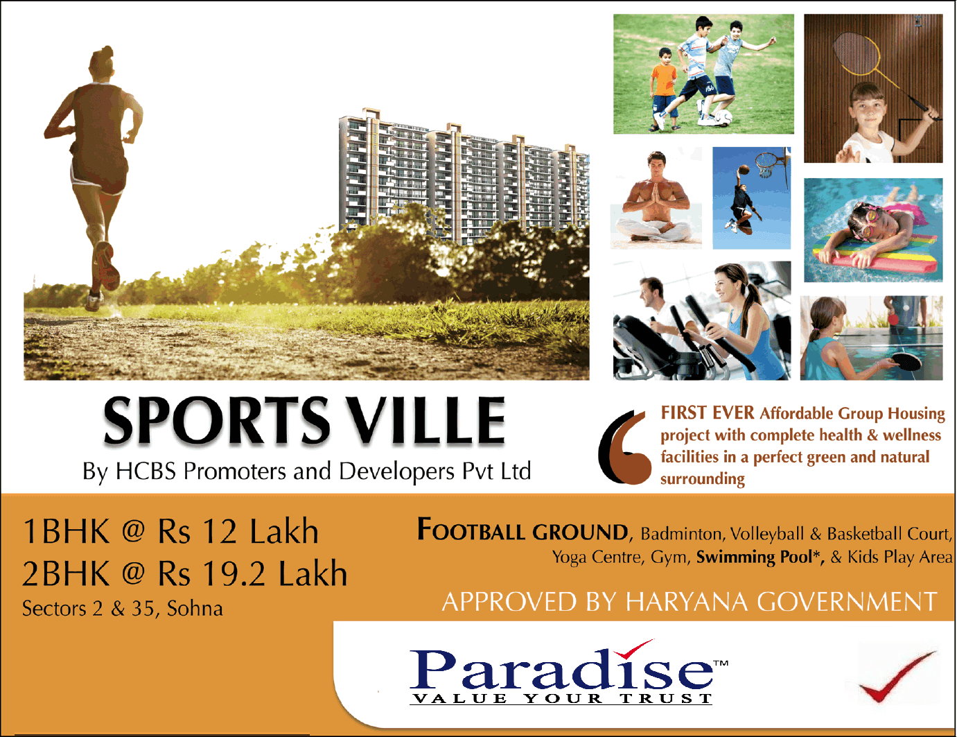 Paradise Consulting HCBS Sports Ville